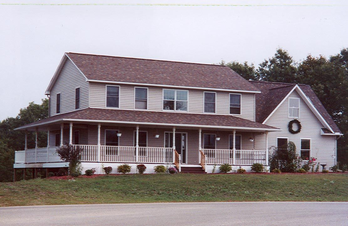 Huge 2 Story Modular Home With Large Covered Porch 2
