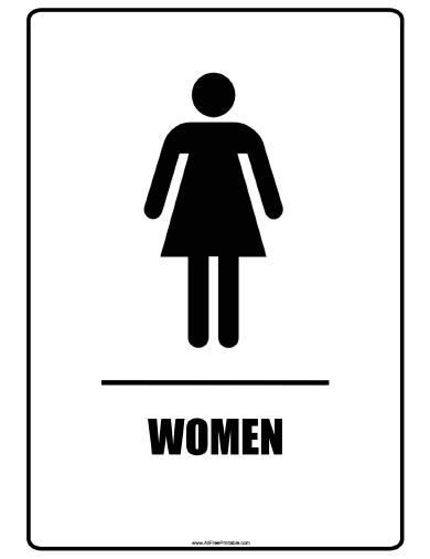 Women Bathroom Signs Free Printable Bathroom Signs Printable Bathroom Signs Bathroom Printables
