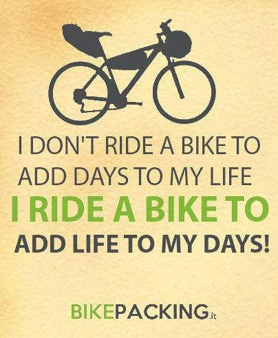 Bikepacking Quotes I Want To Ride My Bicycle Pinterest Bike
