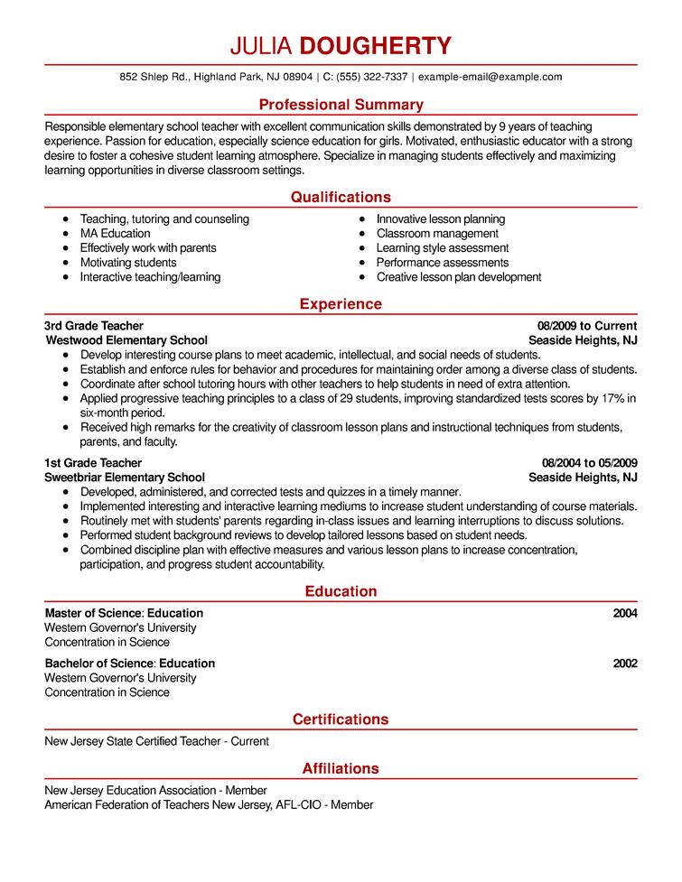 free resume examples  u0026 samples for all jobseekers