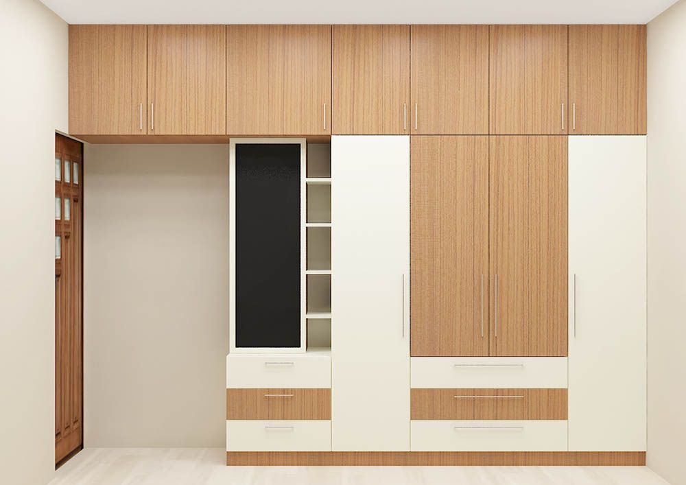buy online 4bec9 7aa41 Ivy Wardrobe with Laminate Finish | Wardrobe Online India in ...