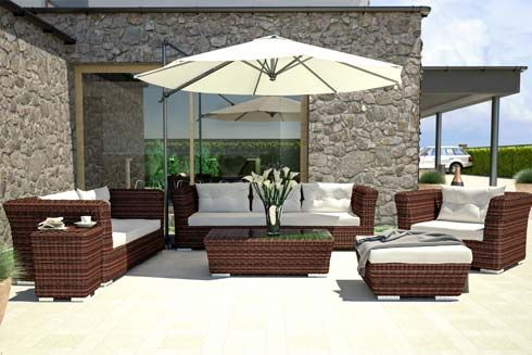 Artelia Fr Tonnelle Originale Resine Tressee Paloma 3mx3m Mobilier De Jardin Design Mobilier Jardin Terrasse