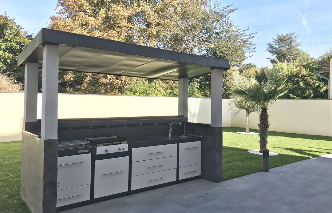 Cuisine D Exterieur Gardenpiano Creez Votre Cuisine D Ete Barbecue Jardin Cuisine Exterieur Amenagement Jardin