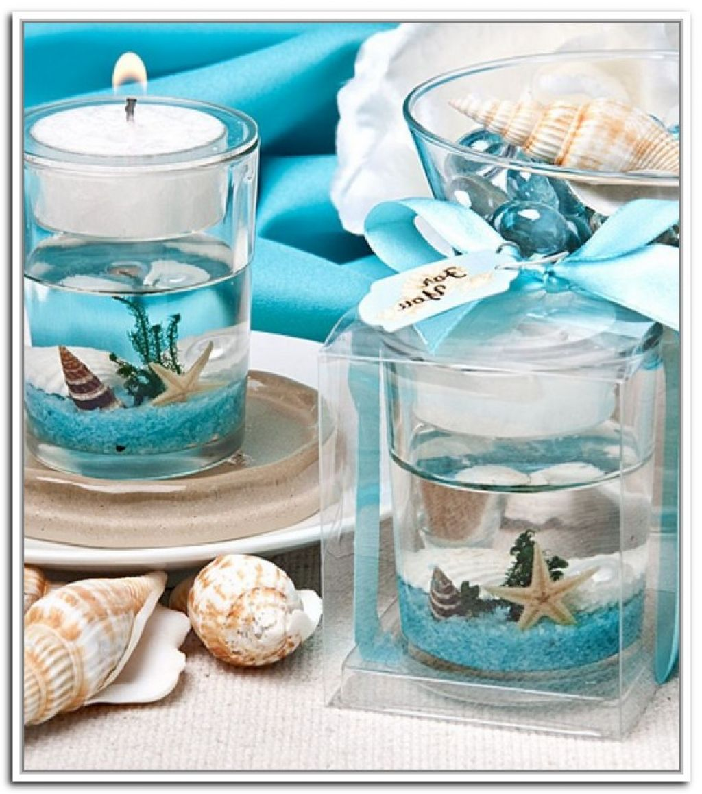 Wedding Favor Ideas Mermaid: Elegant Beach Theme Wedding Centerpieces Design Ideas