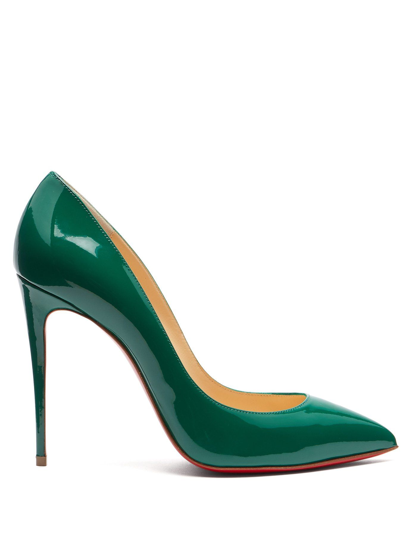 8507f30ef75 Pigalle Follies 100 patent leather pumps | Christian Louboutin ...