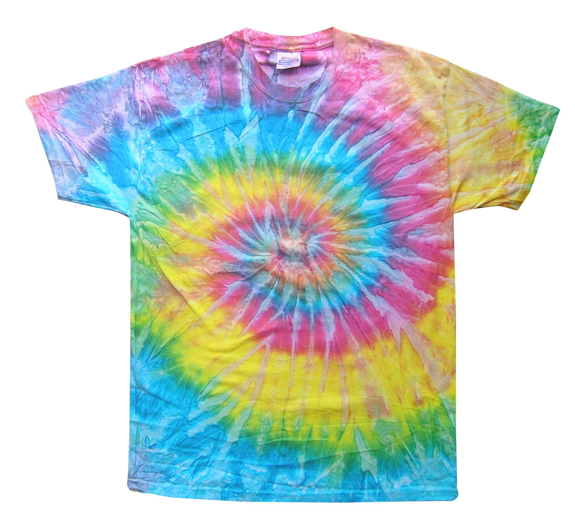 The saturn short sleeve tie dye t shirt is a combination for Making a tie dye shirt