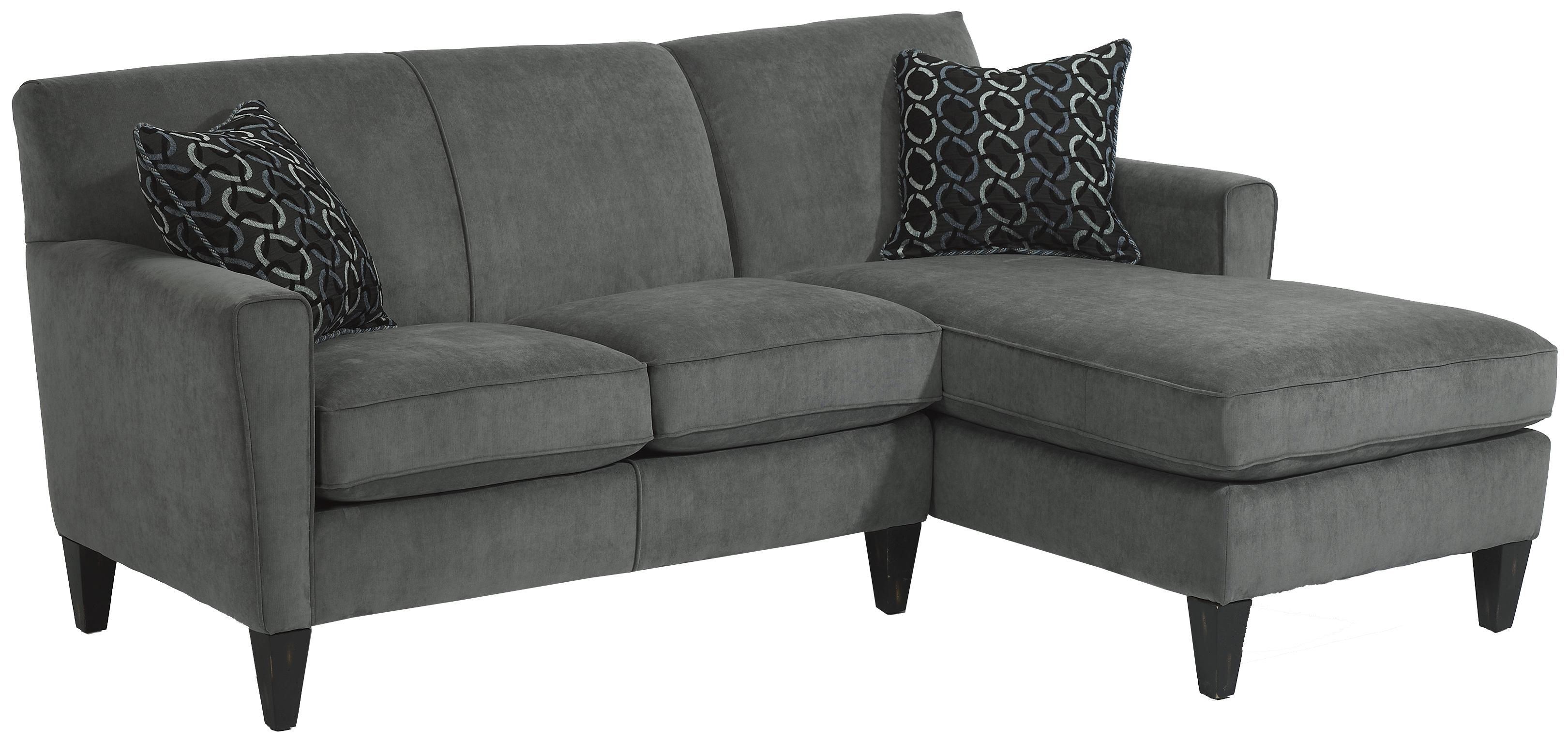 "Digby Sectional Sofa by Flexsteel only 81"" across as shown here"