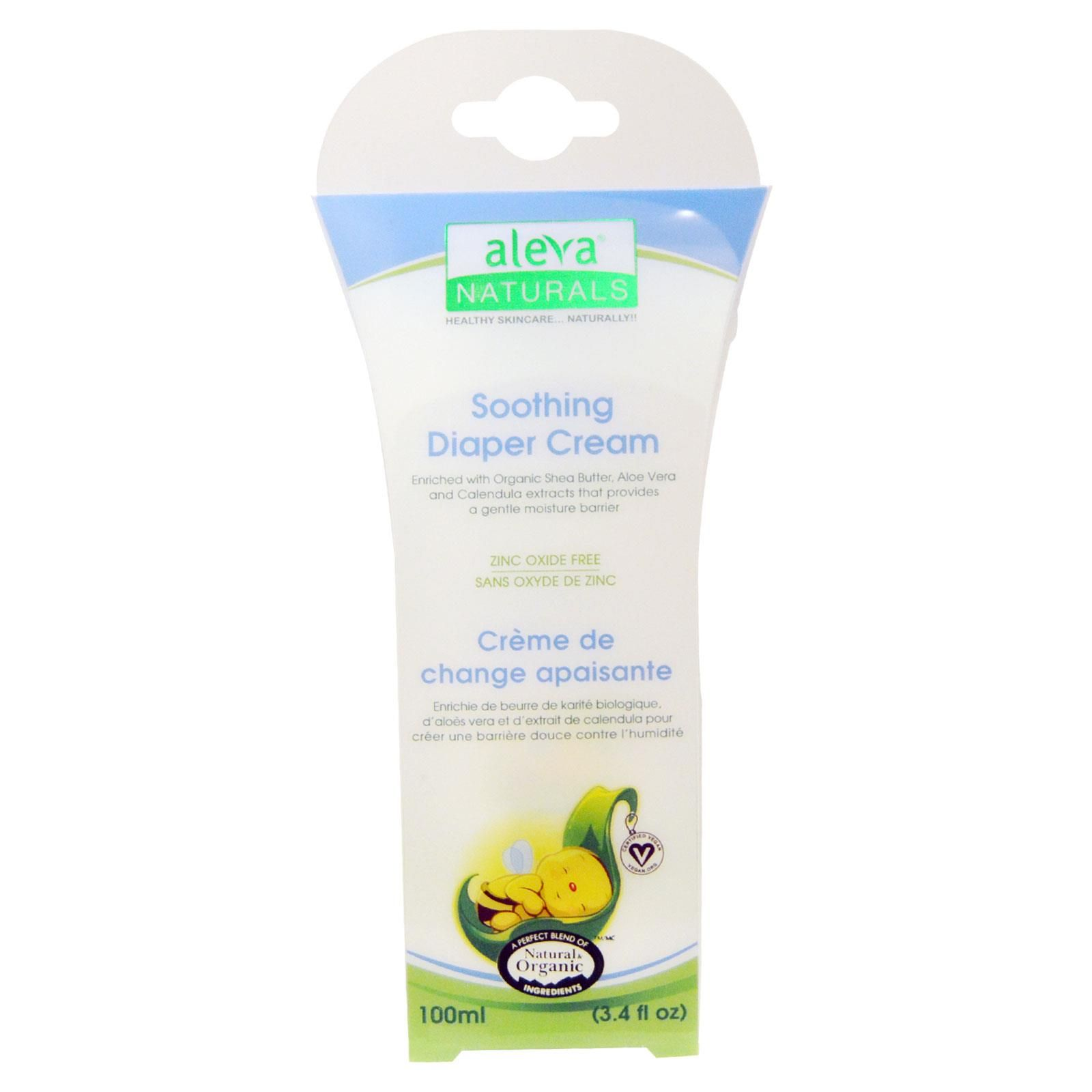 Aleva Naturals, Soothing Diaper Cream, 3.4 fl oz (100 ml)- Save extra with Iherb promo coupon code YUY952 -   Visit iherb specials for latest discounts: http://www.iherb.com/specials?rcode=yuy952