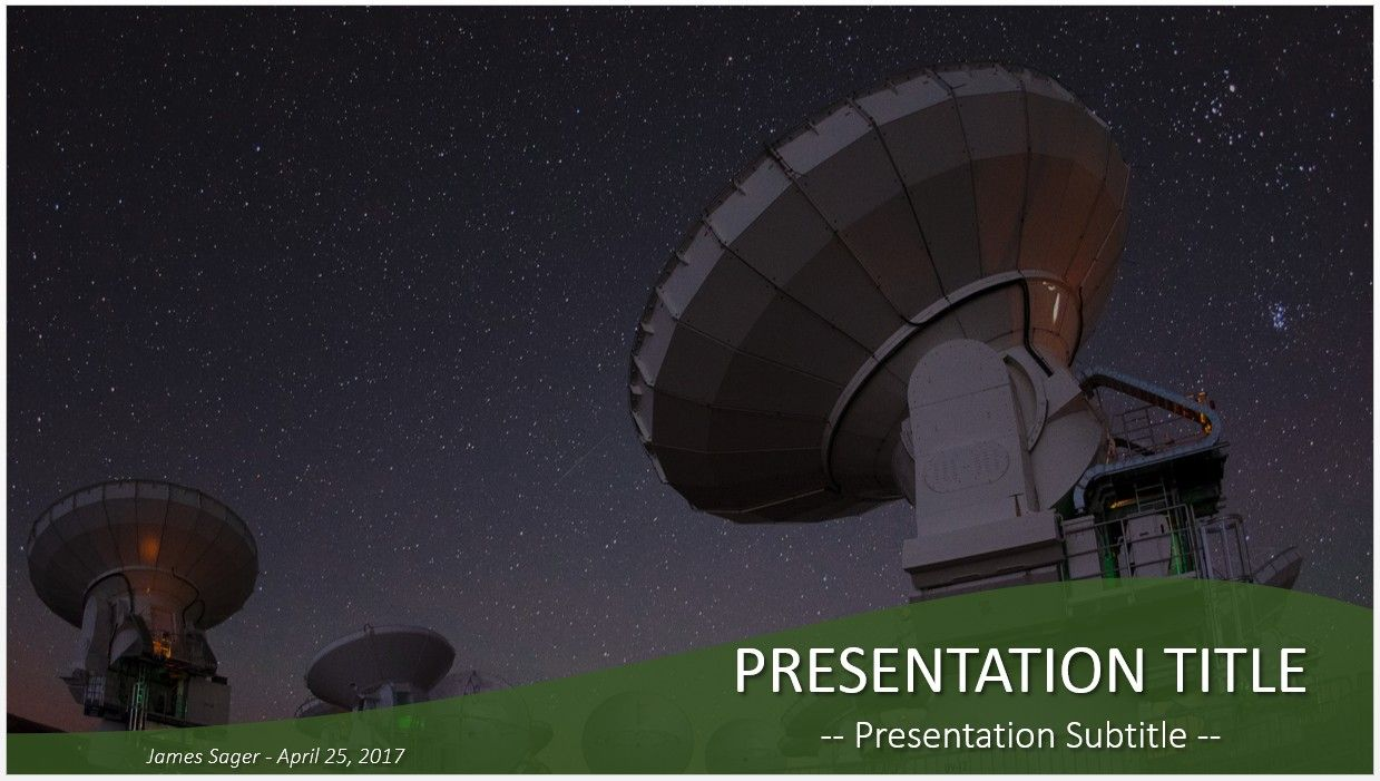 Radio telescopes powerpoint free powerpoint templates pinterest free radio telescopes powerpoint by sagefox choose from thousands of quality templates with no fees or registration required new powerpoint templates toneelgroepblik Images