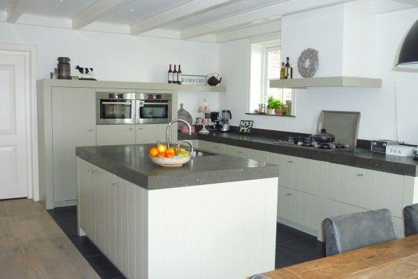 Betere mooie strak landelijke keuken. | Keukens, Keuken, Houten keuken LC-72