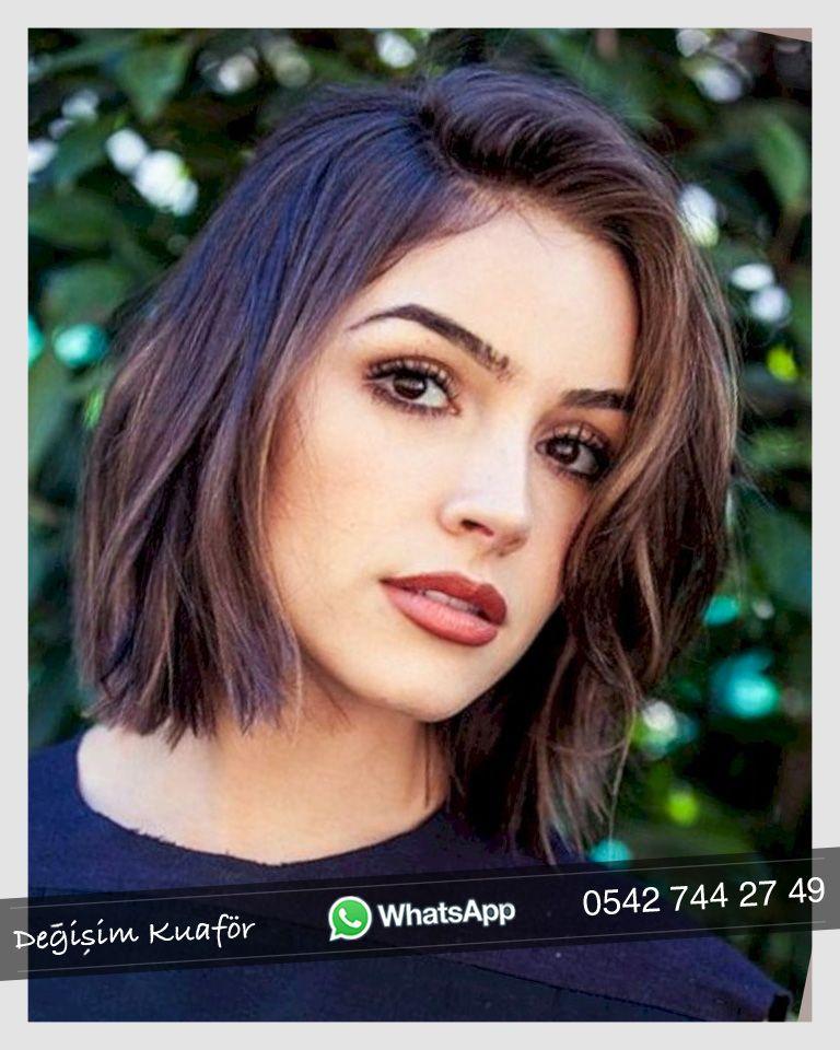 2019 Saç Kesim Modelleri Bayan Saç Modelleri Short Hair Cuts