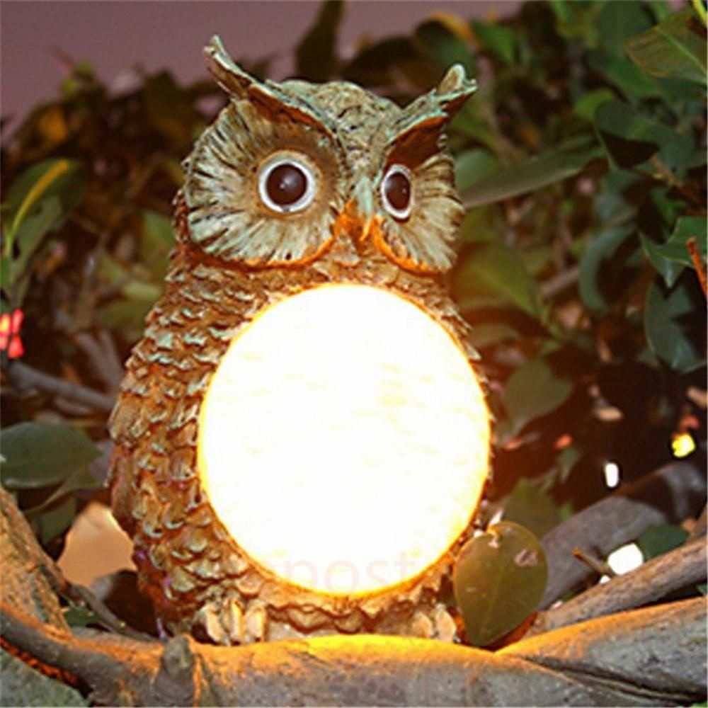 Solar Owl Garden Light | Solar and Gardens