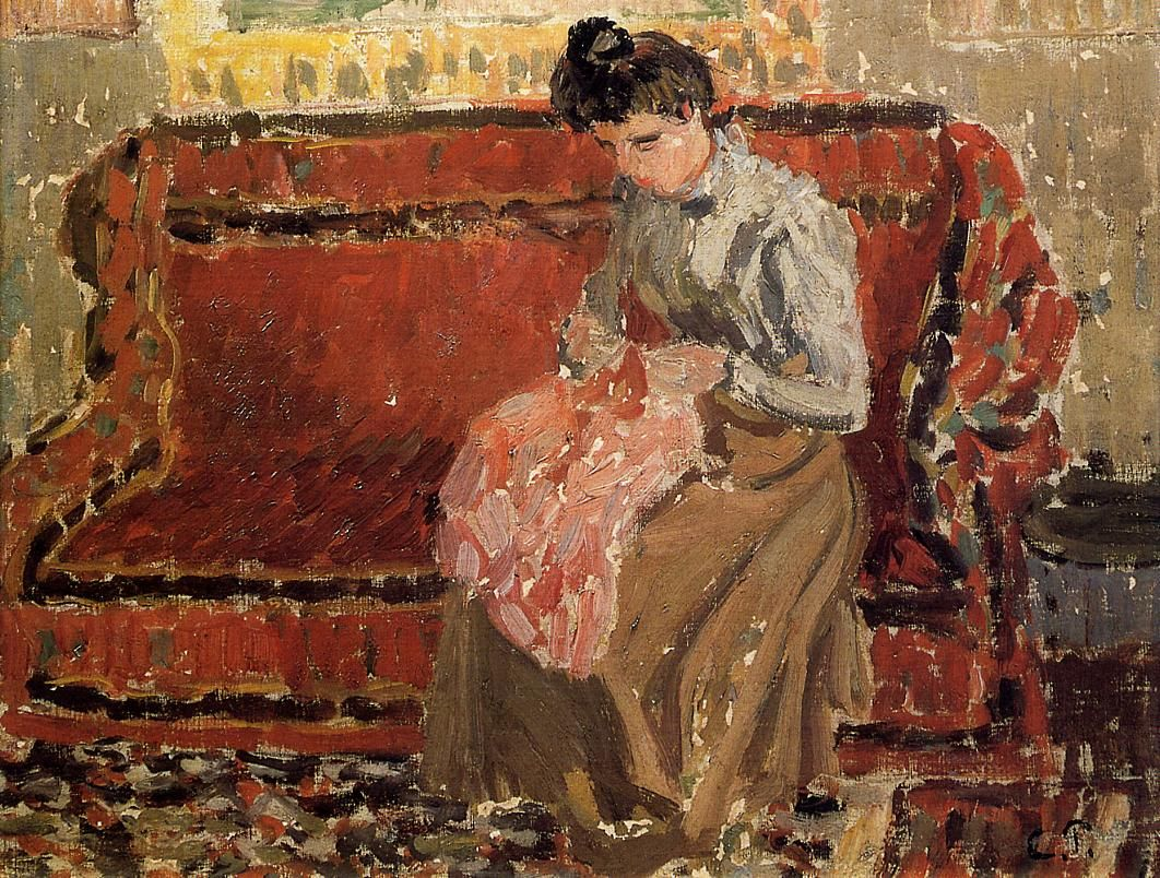 Jacob Abraham Camille Pissarro 1830 1903 Danish French Impressionist And Neo Impressionist Painter 197