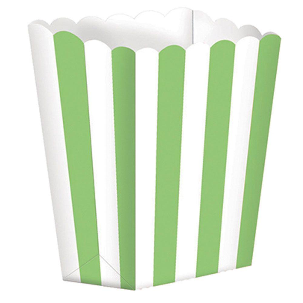 Popcornbox grün-weiß gestreift (5 Stk.) | Dinosaurier ...