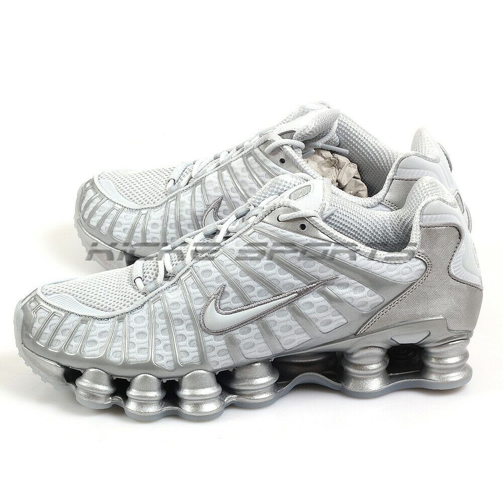 reputable site best place pre order eBay Sponsored) Nike Shox TL Pure Platinum/Chrome Sportstyle ...