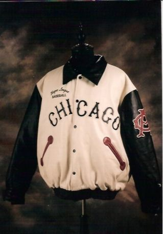 All Leather Mychael Darwin Authentic Chicago American Giants Baseball Jacket