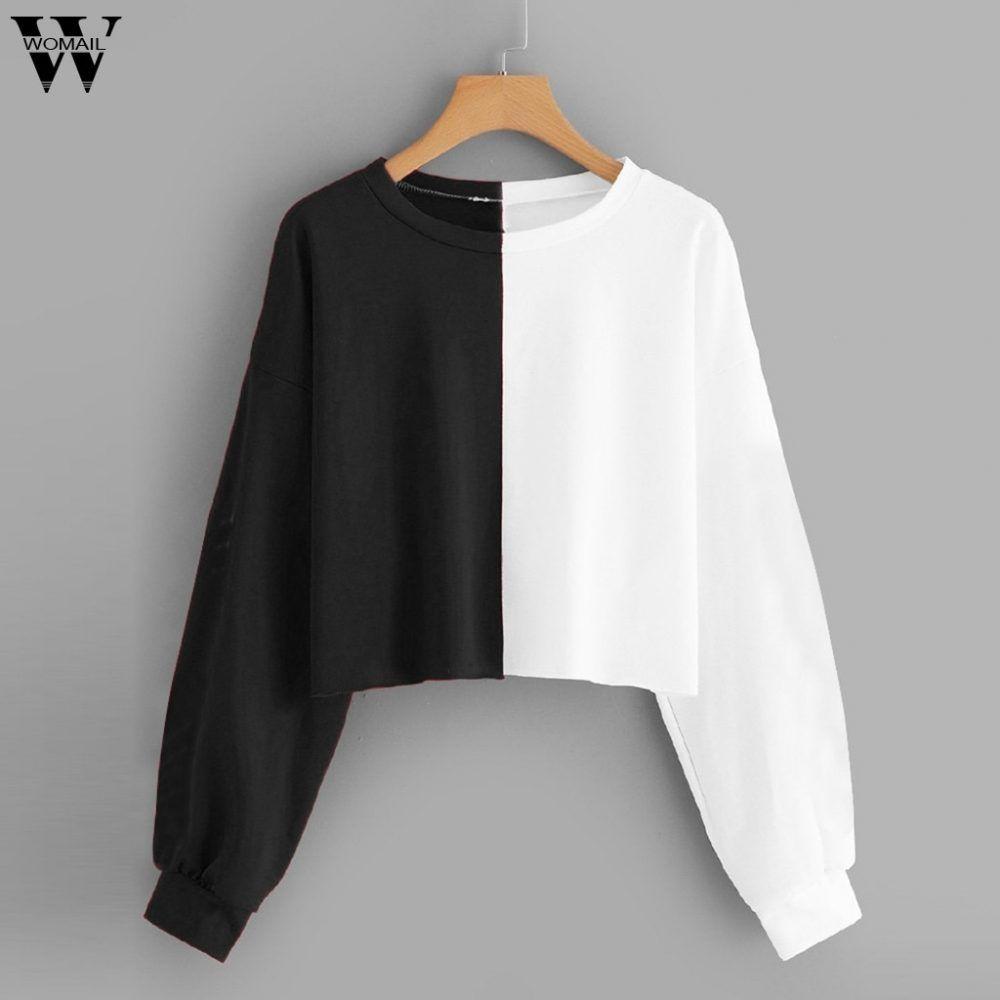Women Sweatshirts Women's Fashion Plus Size Floral Print in 2020 | Womens sweatshirts  fashion, Sweatshirts women, High fashion street style