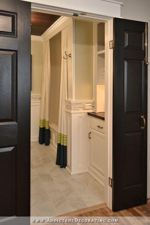 Lovely Hallway Bathroom Remodel: Before U0026 After | Storage Closets, Remodel  Bathroom And Storage Shelves