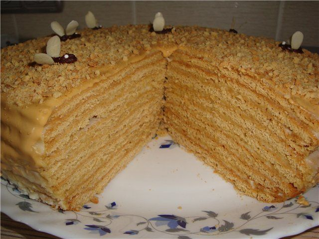 торт чудо медовый рецепт с фото предлагаем