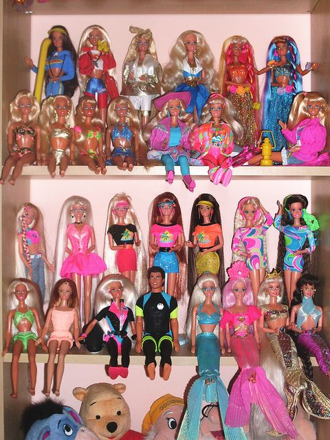 Barbies From The Early 90s Barbie 90s Collection my Huge