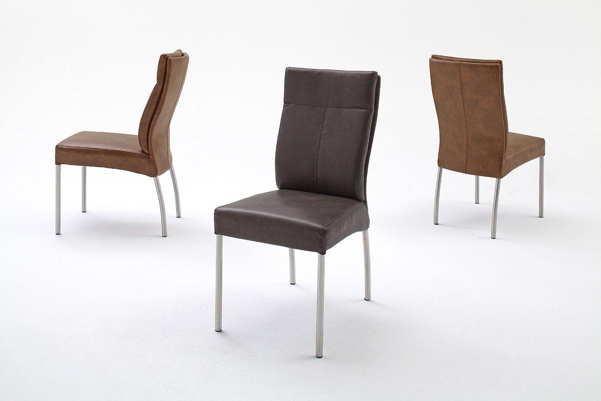 Esszimmerstuhl Eden 4 Fu Szlig Stuhl 2 Verschiedene Farbvariationen Material Gestell Rundrohr Edelstahl Geb Uuml Rstet Oslash Stuhle Esszimmerstuhle Zimmer