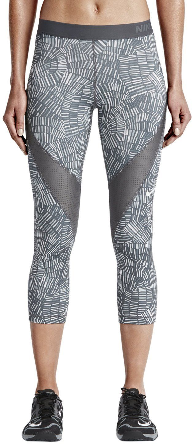 save off b5154 7d361 Nike Pro HC Tidal Multi Capri Damen Tights Amazon.de Schuhe  Handtaschen