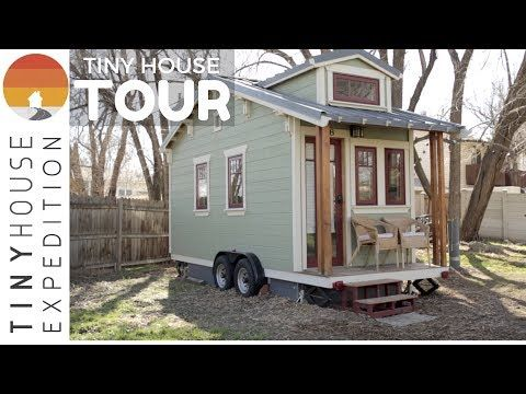 The Lucky Linden Tiny House - very open, like the layout and the