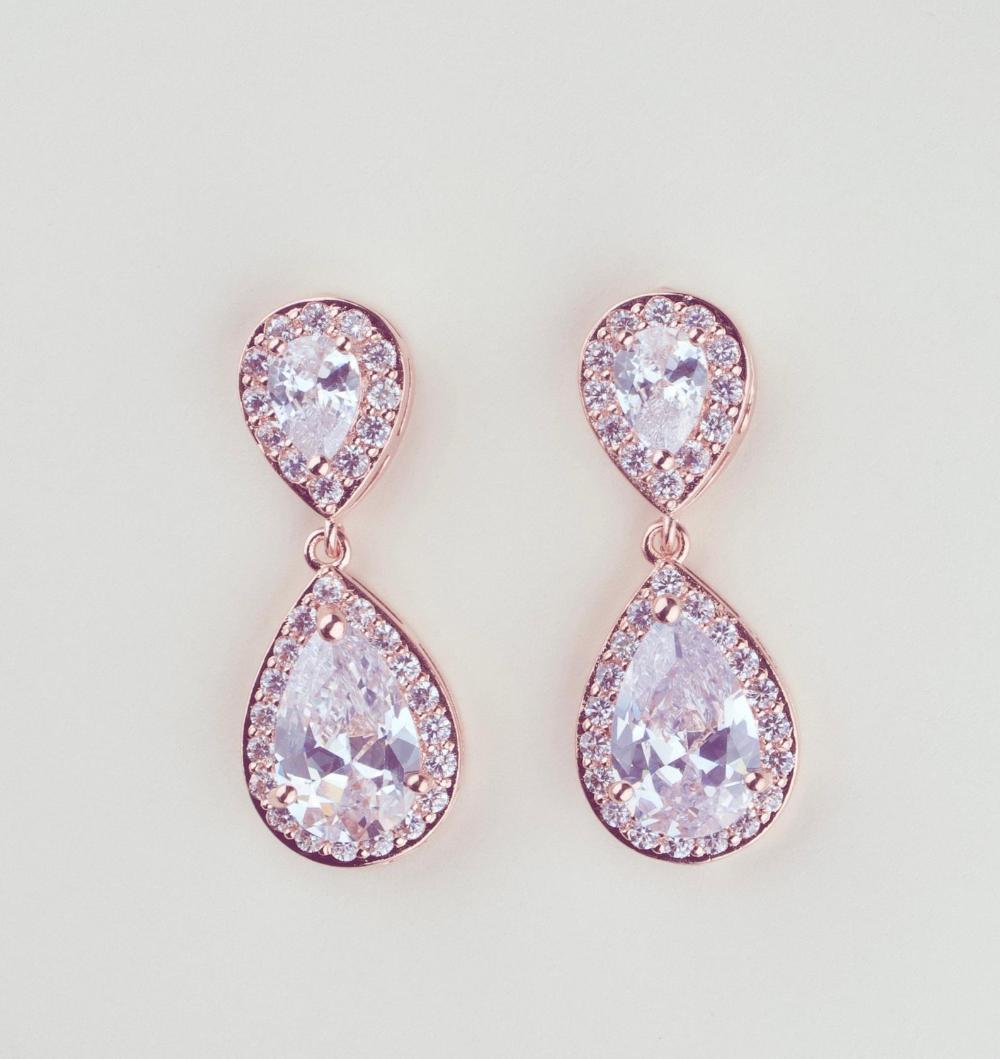 Crystal Bridal Earrings Drop Wedding Earrings Silver Wedding Jewelry Crystal Tea Drop Earrings Gold Bridal Jewelry Bridesmaids Earrings In 2020 Silver Bridal Earrings Bridal Earrings Drop Crystal Wedding Jewelry