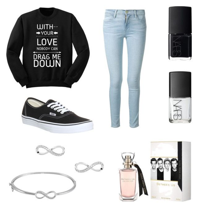 """""""▫️▫️"""" by musicsavedme1313 ❤ liked on Polyvore featuring Vans, Frame Denim, NARS Cosmetics and Jewel Exclusive"""