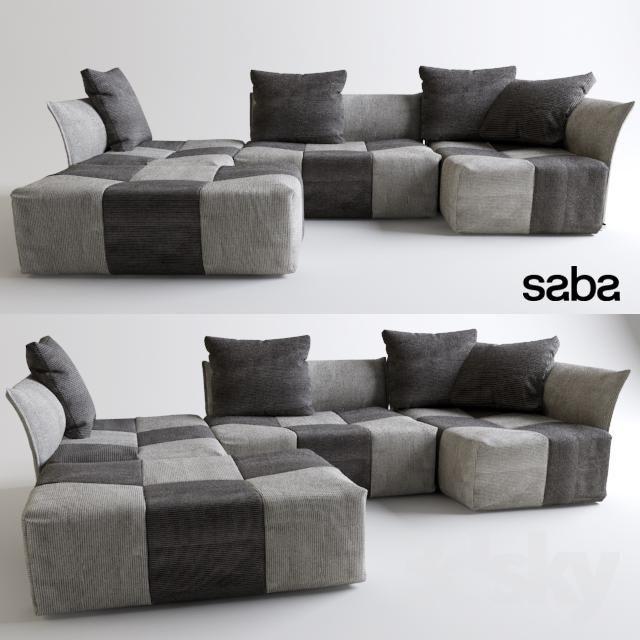 Download Modular Sofa Saba Pixel Free 3d Model For Printing