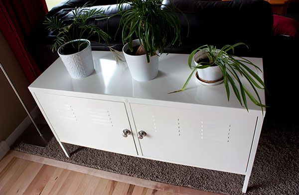 Ikea Credenza Lock : Replace locking mechanism with pulls on ikea ps cabinet furniture