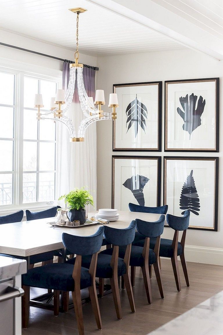 77+ Lovely Modern Dining Room Decorating Ideas | Dining ...