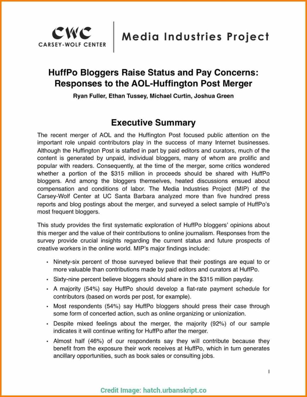 Executive Summary Report Template Free Sansurabionetassociats Regarding Template For Summary Repor Executive Summary Template Executive Summary Report Template