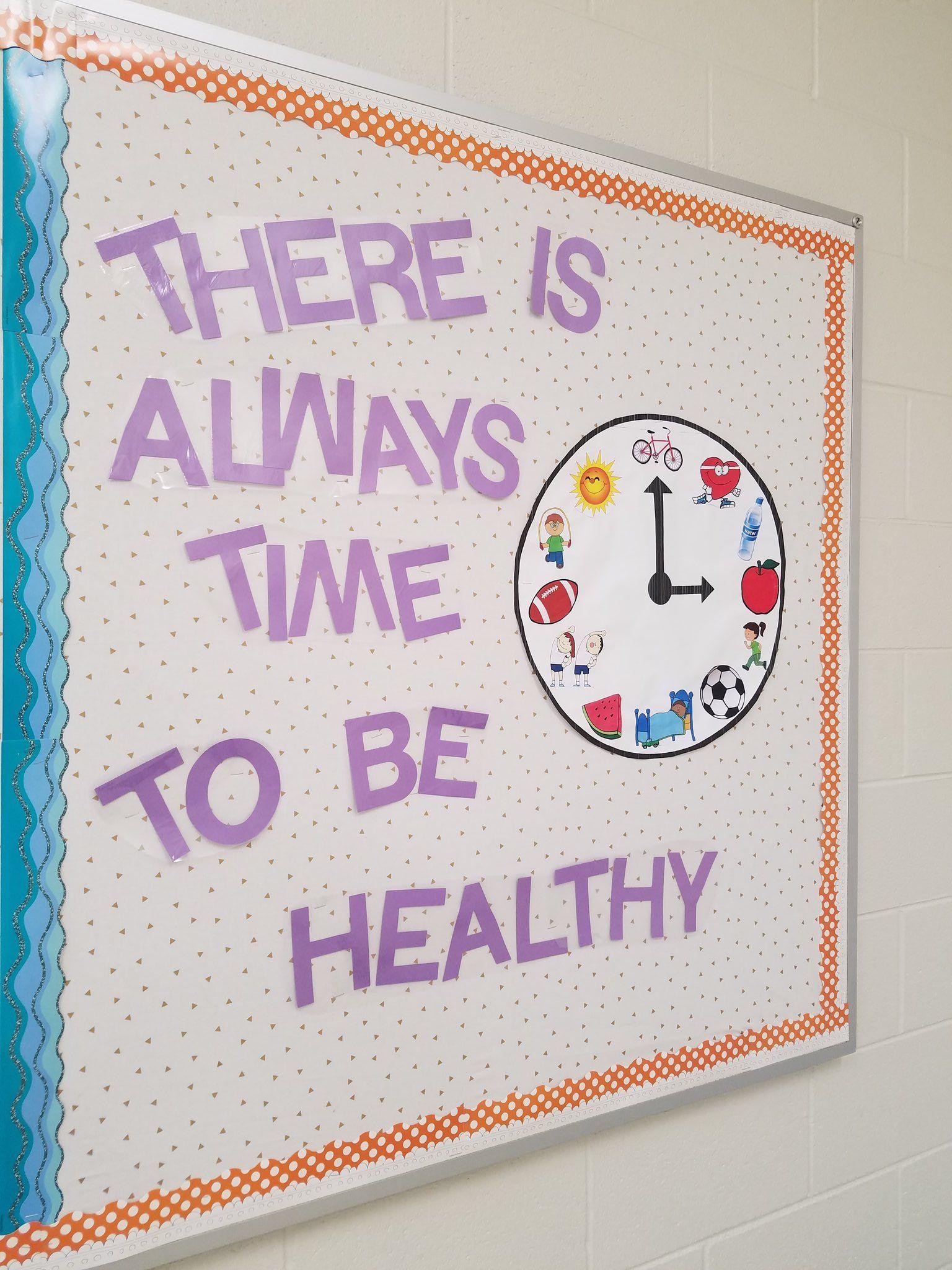 Julie Botkin on Health bulletin boards, School bulletin