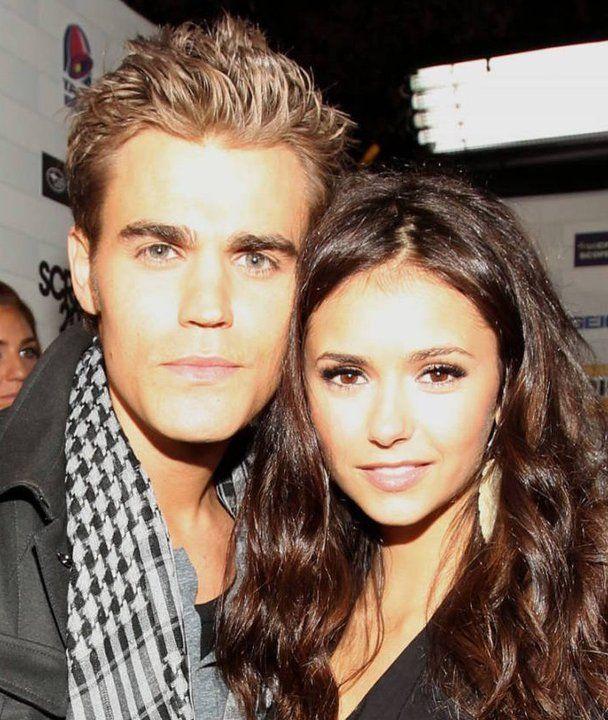 Paul Wesley and Nina Dobrev - Scream Awards 2010