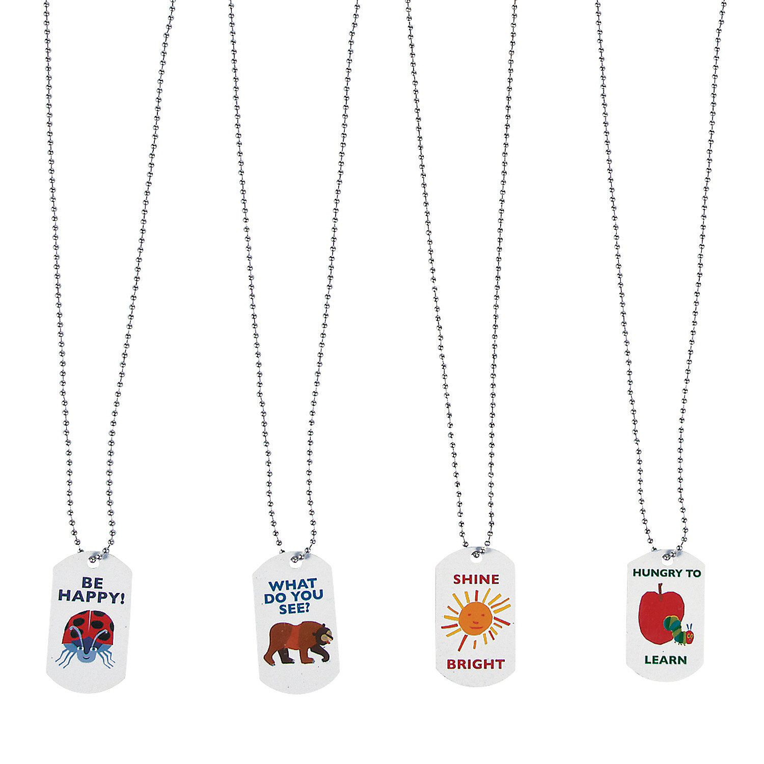 Oriental Trading The World Of Eric Carle Dog Tag