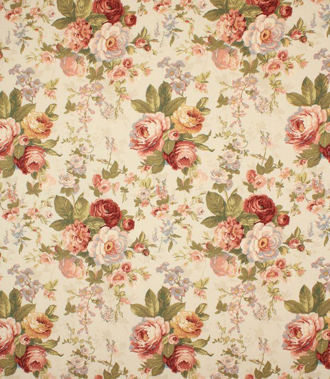 Traditional Floral Fabric Beautiful Http Www Justfabrics Co Uk