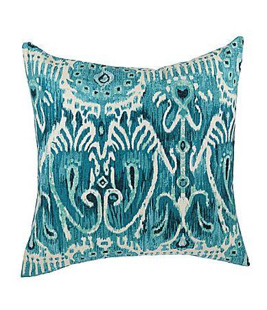 Spencer Industries Sarabi Teal Decorative Pillow Dillards For The Custom Dillards Decorative Pillows
