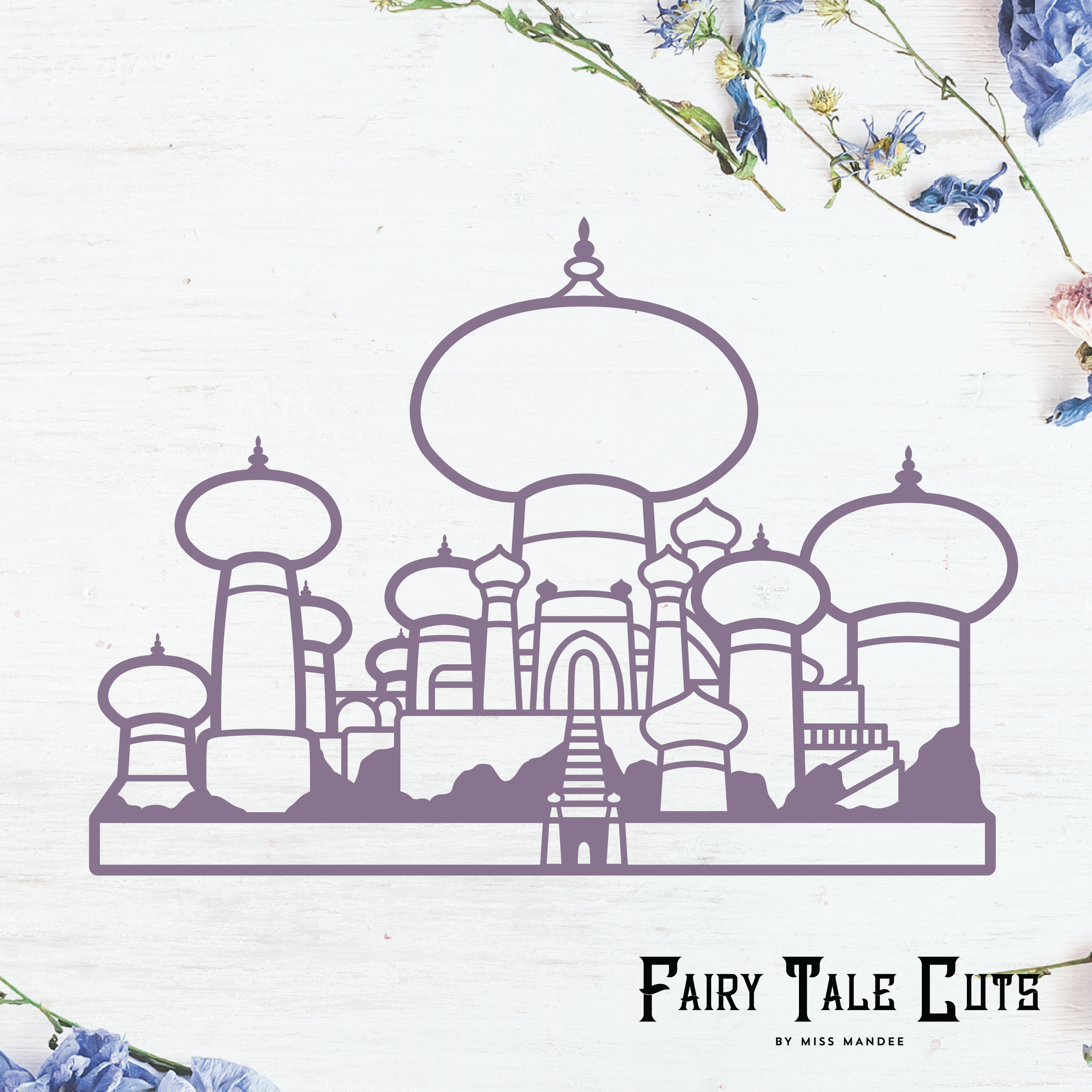 Jasmine S Castle Agrabah Palace Aladdin Inspired File Etsy In 2020 Aladdin Castle Silhouette Disney Silhouettes