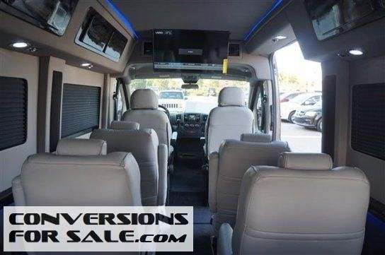 2015 Ram Promaster 2500 High Roof Sherrod Conversion Van Van Conversion Conversion Vans For Sale Ram Promaster