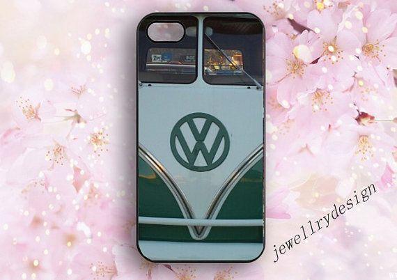 VW Mini Bus iPhone 5 5s Case... from jewellrydesign on Wanelo ... 5e4e0b5d64