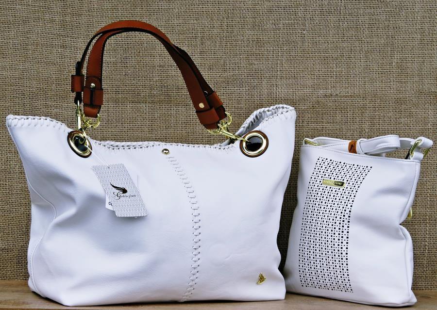 928a1b223e A Bolsa Feminina Golden Fênix B1104181 Branca é excelente para as mulheres  que adoram esbanjar estilo