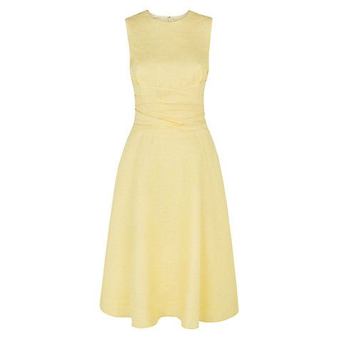 Buy Hobbs Twitchill Linen Dress Online at johnlewis.com | Wedding ...