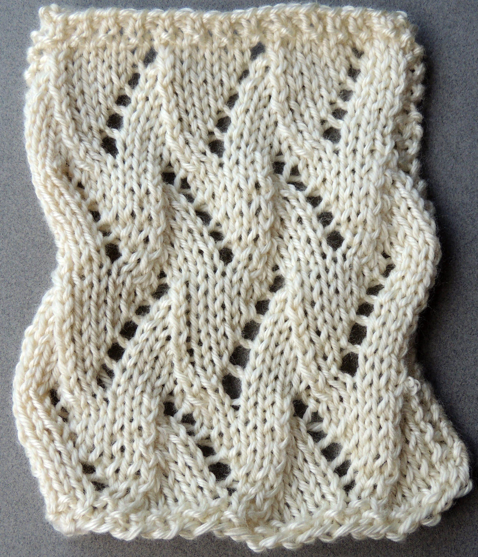 Dos Agujas : Punto Calado # 5. Parte 1 de 2 (+playlist) | knitting ...