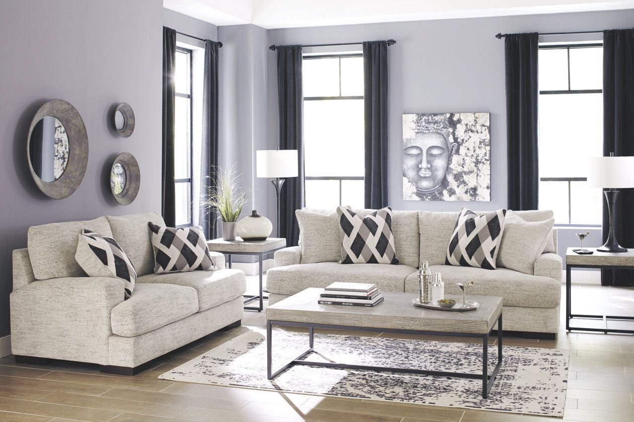 Fabulous Geashill Sofa Jills Condo Sofa Loveseat Set Couch Home Interior And Landscaping Eliaenasavecom