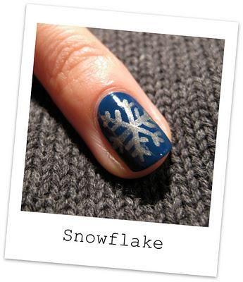 Diy Snowflake Diy Nails Art Nail Art Pinterest