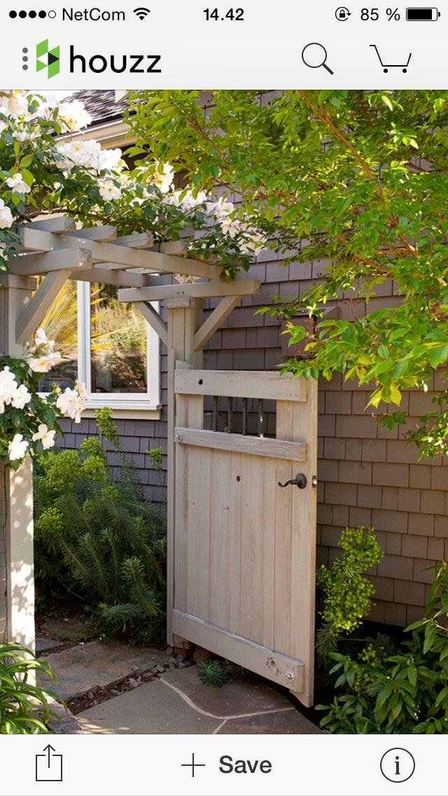Pin de Sabrina Deal en Yard Pinterest Jardín, Diseño de cercas y