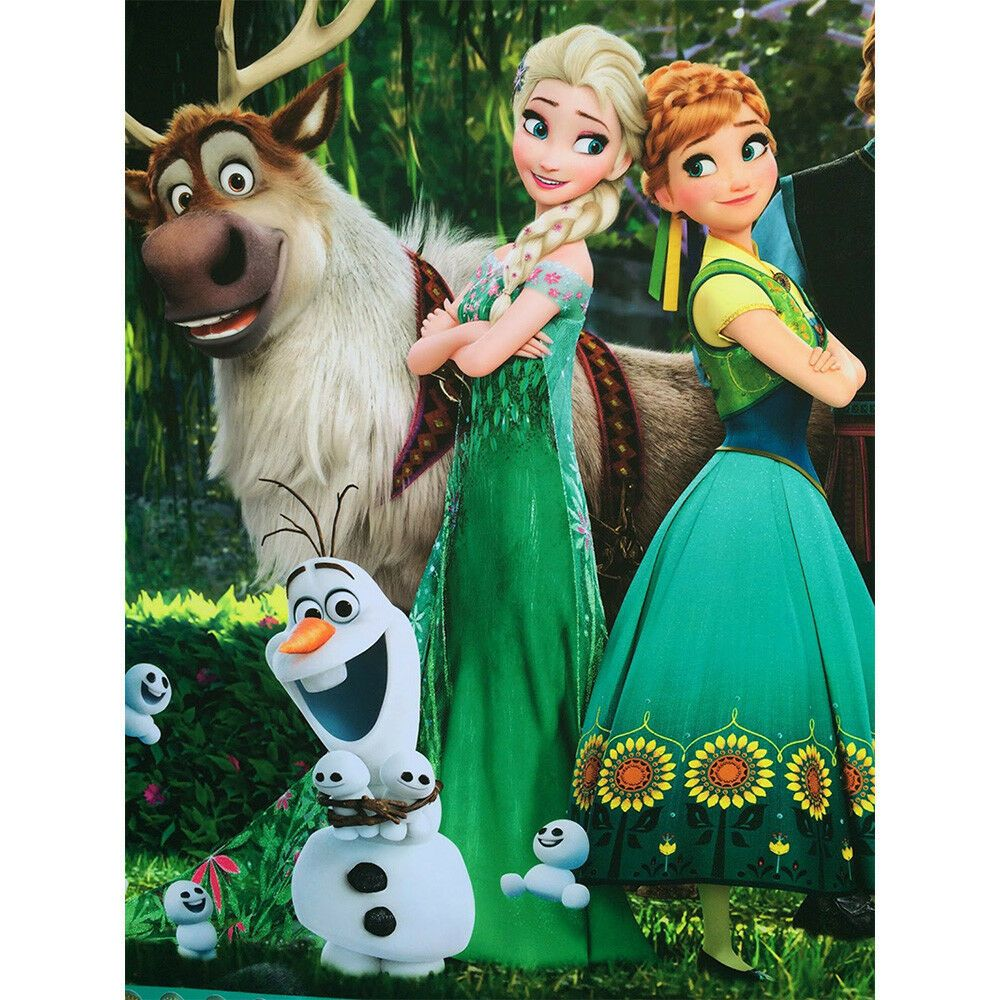 Elsa Ana Diamond Painting Cross Stitch Diy 5d Full Round Frozen Kids Gift Decor Kaipingmeipark Cross Paintings Diamond Painting 5d Diamond Painting