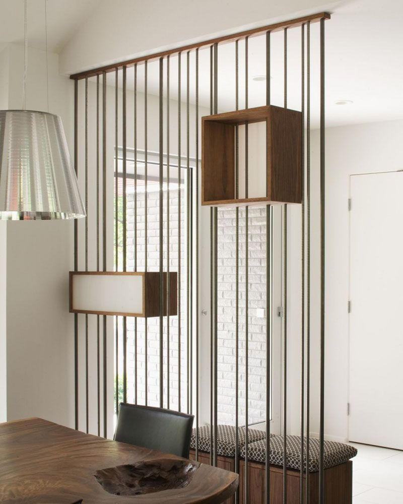 15 creative ideas for room dividers this space divider for Room divider art