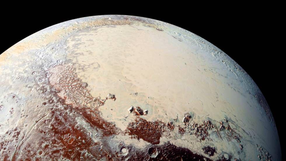 Un Océano Habitable En Plutón Planeta Enano Nasa Planetas
